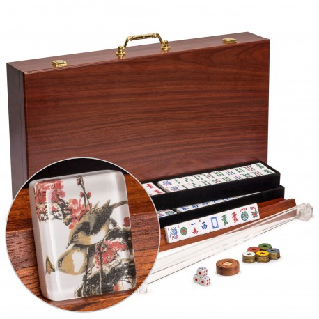 Mahjong Américain - Traditional Birds