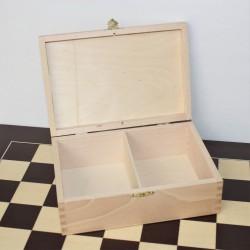 Boite de rangement pour pièces d'échecs