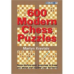 Kravtsiv - 600 modern chess puzzles