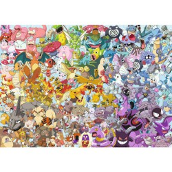 Puzzle 1000 pièces Pokémon - Challenge