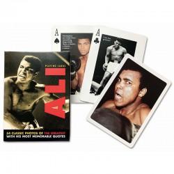 Cartes à jouer Mohammed Ali