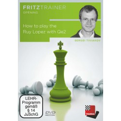 DVD Tiviakov _ How to play the Ruy Lopez with Qe2
