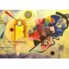 Puzzle 1000 pièces - Jaune, Rouge et Bleu - Kandinsky