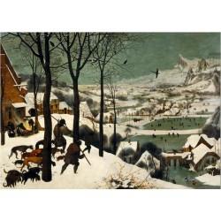 Puzzle 1000 pièces - Chasseurs dans la Neige - Brueghel