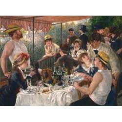 Puzzle 1000 pièces - Déjeuner des Canotiers de Renoir
