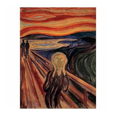 Puzzle 1000 pièces - Le cri de Munch