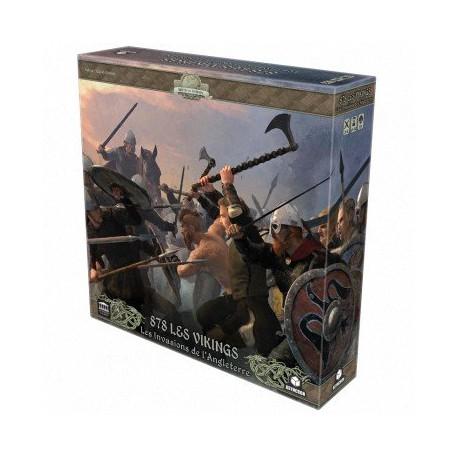 878 Les Vikings: Les Invasions de l'Angleterre (nouvelle édition)