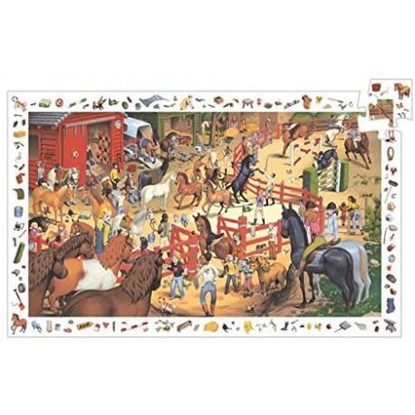 Puzzle 200 pièces - Equitation