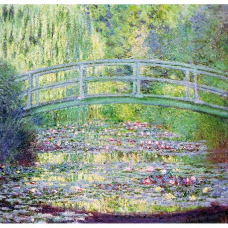Puzzle 350 pièces - Monet - pont japonais nv09