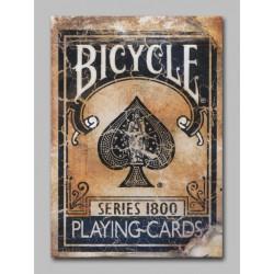 Cartes Bicycle Vintage - Series 1800 Bleu