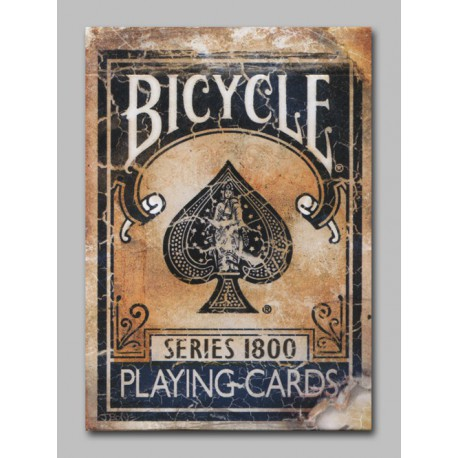 Cartes Bicycle Vintage - Series 1800 Bleu