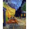 Puzzle 250 pièces - Café le soir de Van Gogh