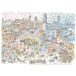 Puzzle 1080 pièces - Romeo & Juliette