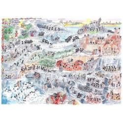 Puzzle 1080 pièces - Divine comédie Enfer