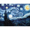 Puzzle 50 pièces - Nuit étoilée - Van Gogh