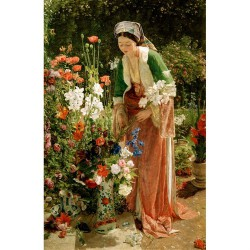 Puzzle 350 pièces - Dans le jardin - Lewis