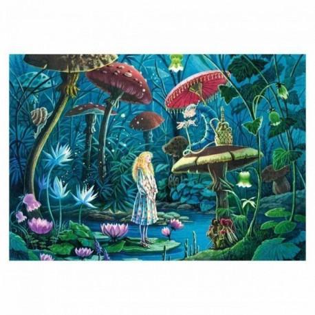 Puzzle 100 pièces - Alice au Pays des Merveilles