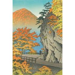 Puzzle 500 pièces - Autumn at Saruiwa - Hasui