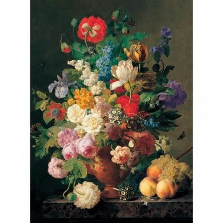 Puzzle 1000 pièces - Vase de Fleur, Van Dael