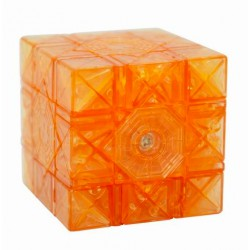 Cube Dayan 6 axis 8 ranks transparent gold