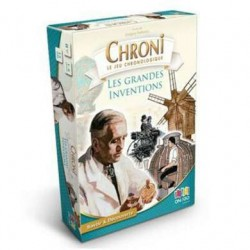 Chronicards Grandes inventions (livre)