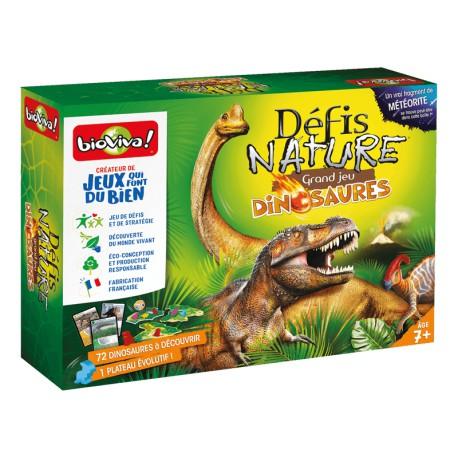 Défis Nature - Grand Jeu des Dinosaures