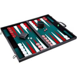 Backgammon Prestige Noir/Vert 54cm