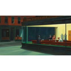 Puzzle 1000 pièces - Nighthawks, Edward Hopper