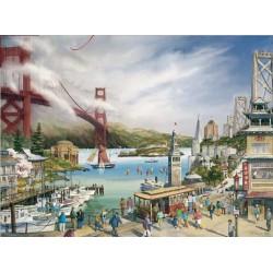 Puzzle 1000 pièces - Spirit of San Francisco de Larry Wilson