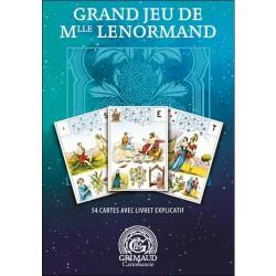 Tarot divinatoire Grand Jeu de Mlle Lenormand Grimaud