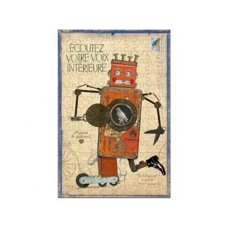 Micro Puzzle 150 pièces - Robot Pierre