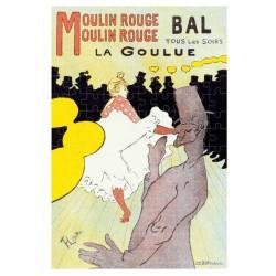 Micro Puzzle 150 pièces - Toulouse Lautrec - Moulin Rouge La Goulue