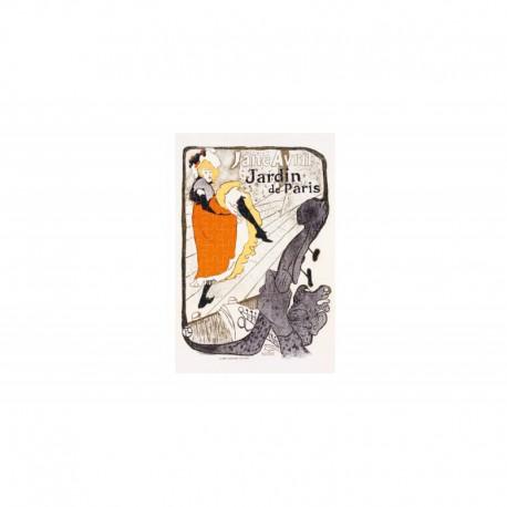 Micro Puzzle 150 pièces - Toulouse Lautrec - Jane Avril Jardin de Paris