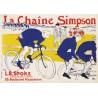 Micro Puzzle 150 pièces - Toulouse Lautrec - La Chaîne Simpsons