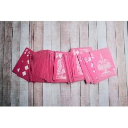 Cartes à Jouer Crown Deck Pink - Limited Edition