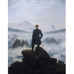 Puzzle 80 pièces - Le Promeneur de Friedrich