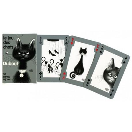 Cartes Le jeu des chats - Dubout