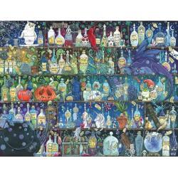 Puzzle 2000 pièces - Etagères à potion
