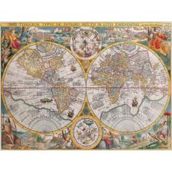 Puzzle 1500 pièces - Mappemonde 1594