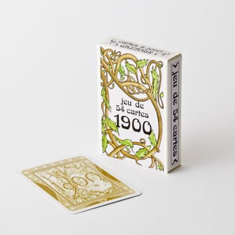 Cartes à jouer 1900 (Histoire et Art Nouveau)