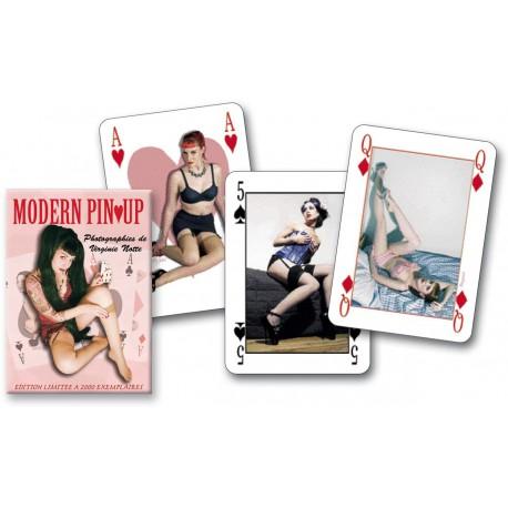 Cartes à jouer Modern Pin Up