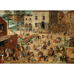 Puzzle 1000 pièces - Les Jeux d'Enfants, Brueghel