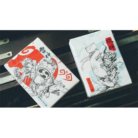 Cartes à jouer Raijin by Bombmagic