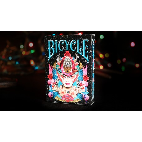 Cartes à jouer Bicycle Mad World