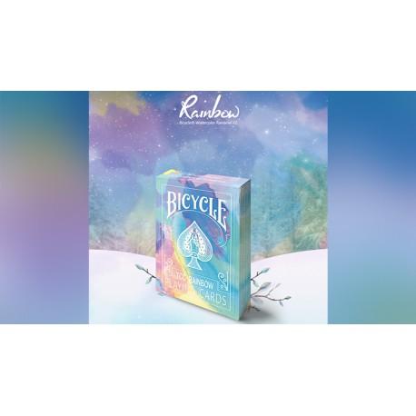 Cartes à jouer Bicycle Rainbow (Cedar)