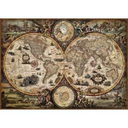 Puzzle 2000 pièces - Vintage World (Mappemonde)