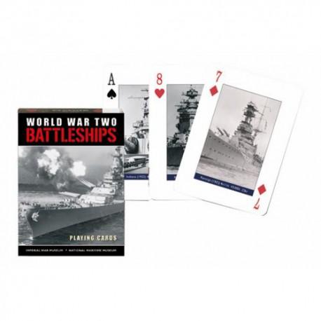 Cartes à jouer Battleships - Seconde Guerre Mondiale