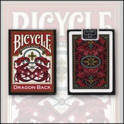 Cartes Bicycle Red dragon