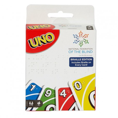 Uno - Edition Braille