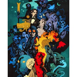 Puzzle 1000 pièces - Hellboy Universe